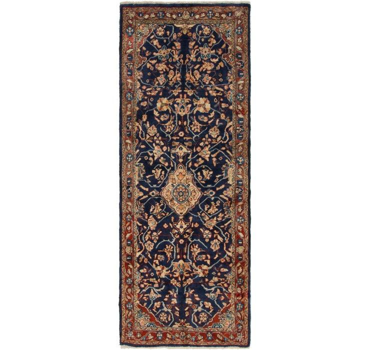 3' 7 x 9' 10 Mahal Persian Runner Rug