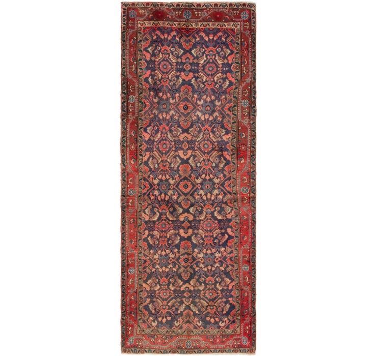 3' 8 x 10' 4 Mahal Persian Runner Rug