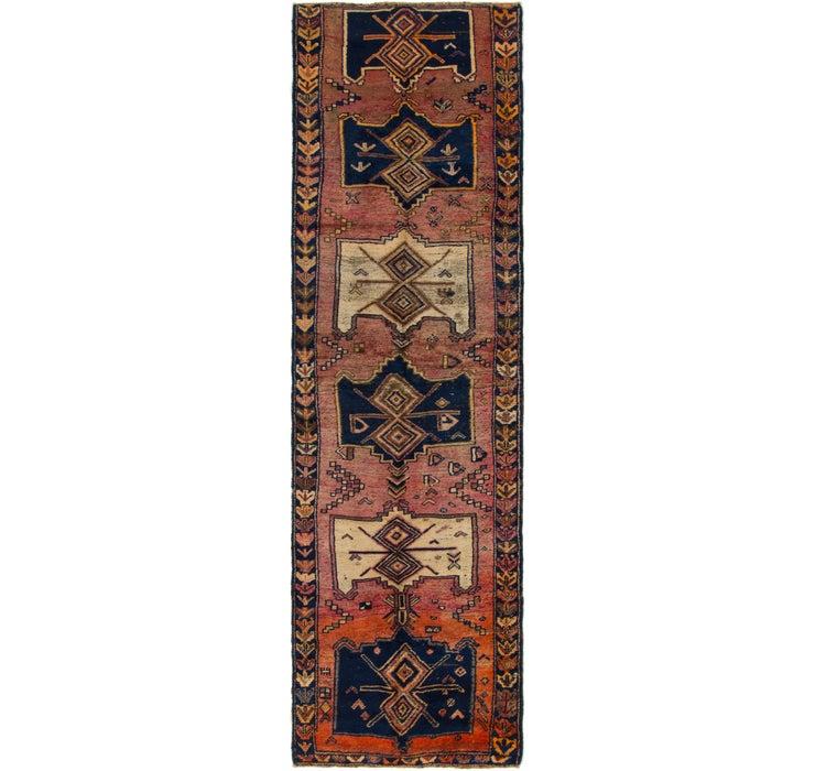 110cm x 385cm Shiraz Persian Runner Rug