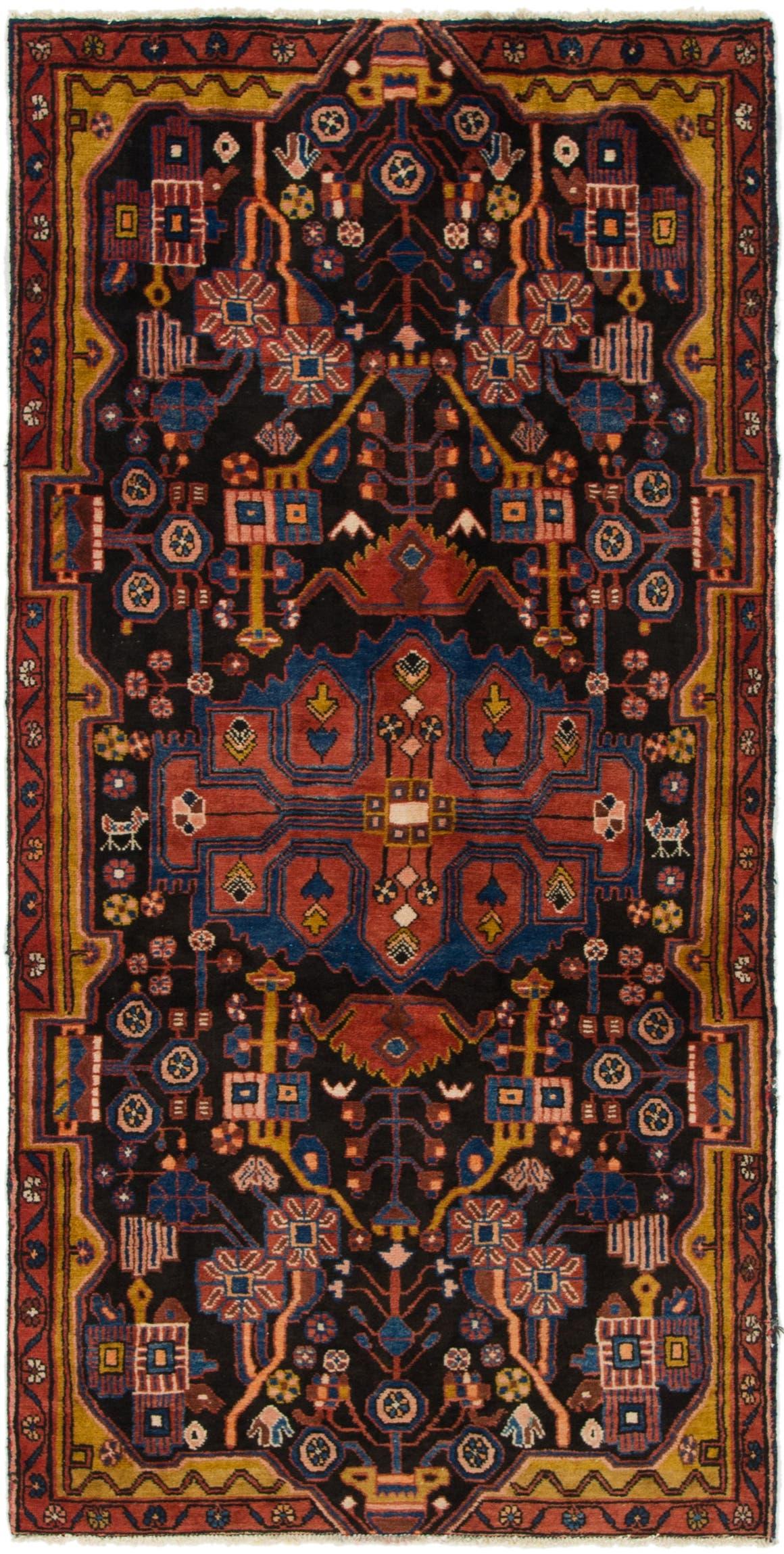 4' x 8' Nahavand Persian Runner Rug main image