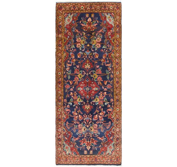 3' 8 x 9' 10 Mahal Persian Runner Rug