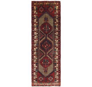 3' 9 x 10' 10 Meshkin Persian Runner Rug main image