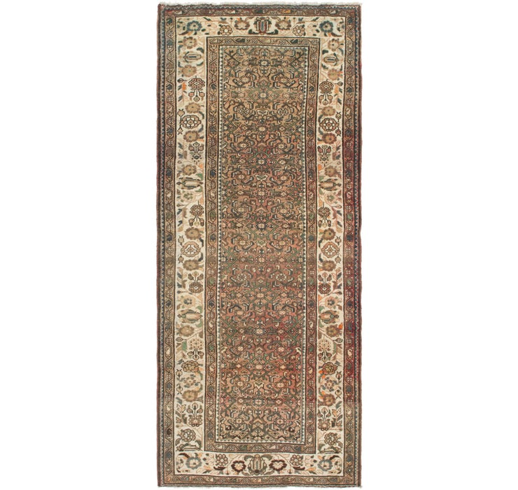 130cm x 315cm Hossainabad Persian Run...