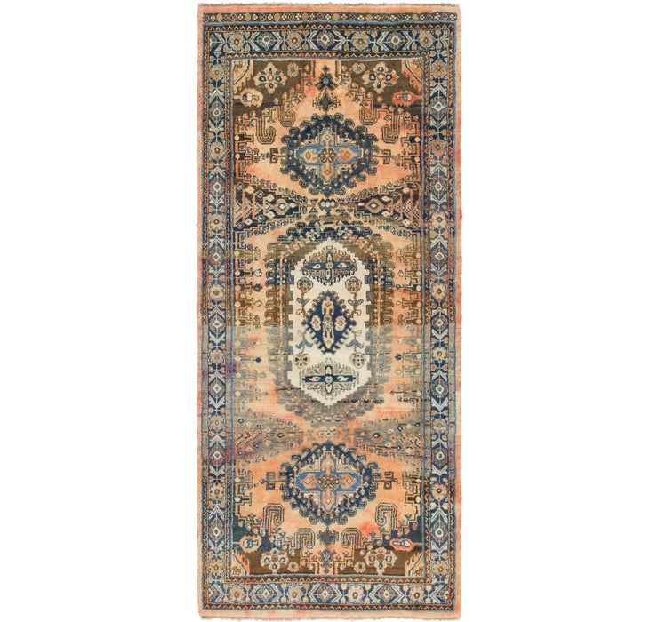 Image of 132cm x 318cm Viss Persian Runner Rug