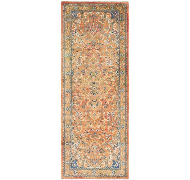122cm x 325cm Mahal Persian Runner Rug
