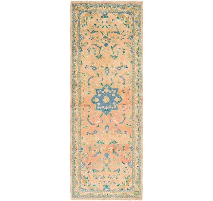 110cm x 310cm Mahal Persian Runner Rug