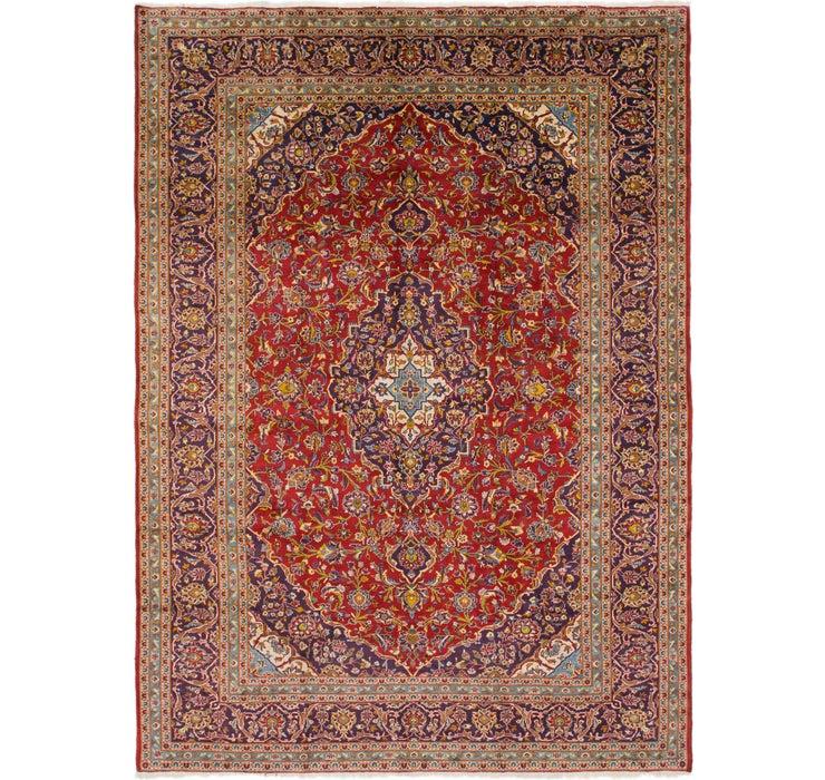 Image of 292cm x 400cm Kashan Persian Rug