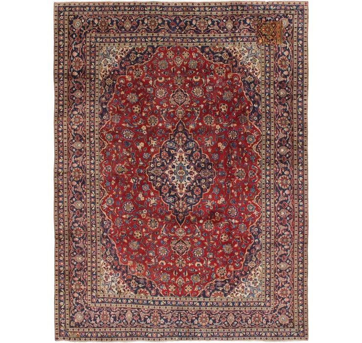 285cm x 375cm Kashan Persian Rug