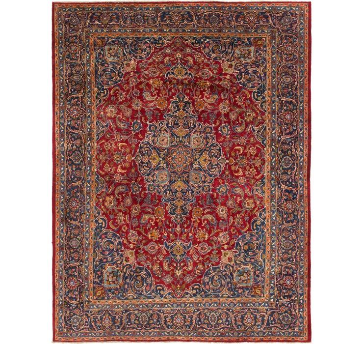 300cm x 390cm Mashad Persian Rug