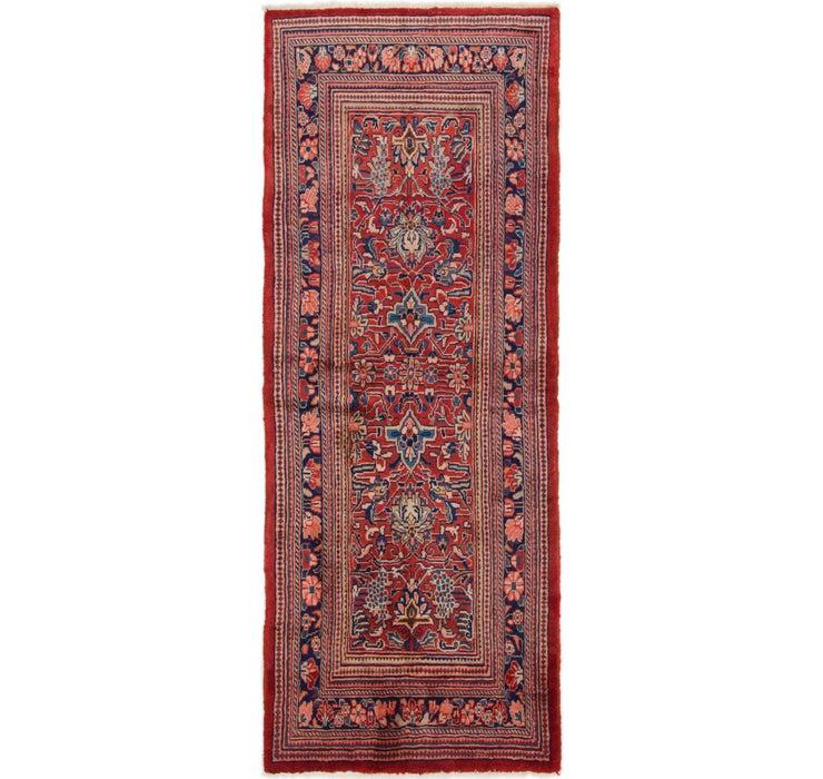 3' 8 x 9' 2 Mahal Persian Runner Rug