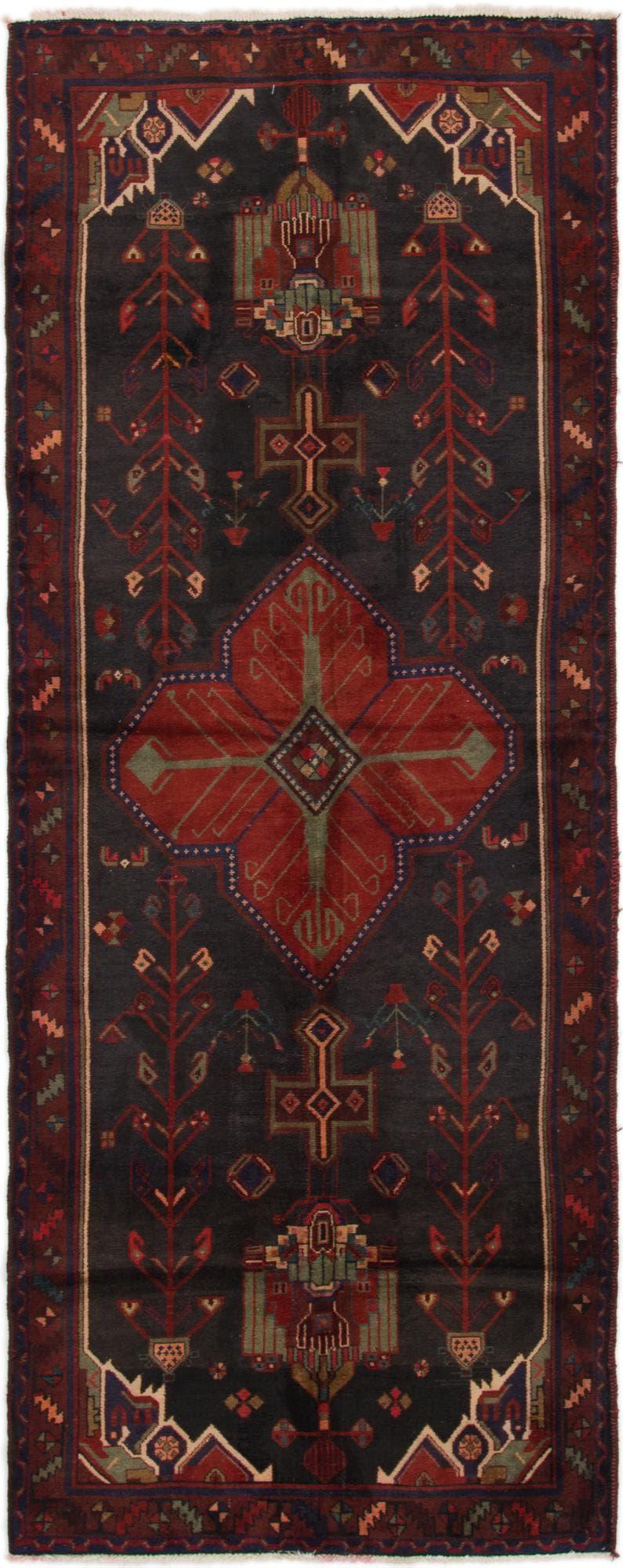 4' x 10' 4 Sirjan Persian Runner Rug main image