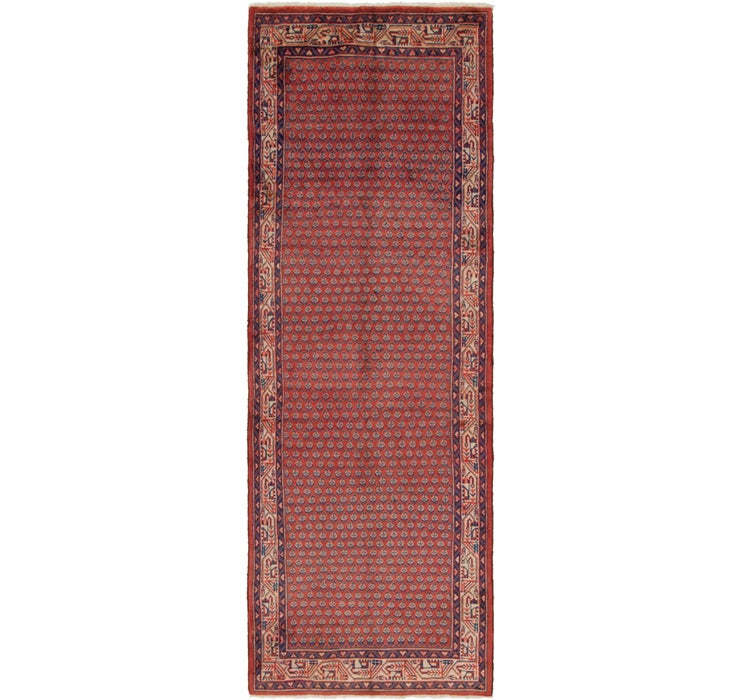 Image of 3' 5 x 10' 6 Farahan Persian Runner ...