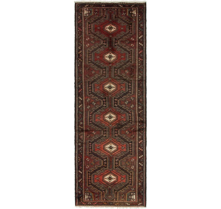 3' 4 x 10' 3 Saveh Persian Runner Rug