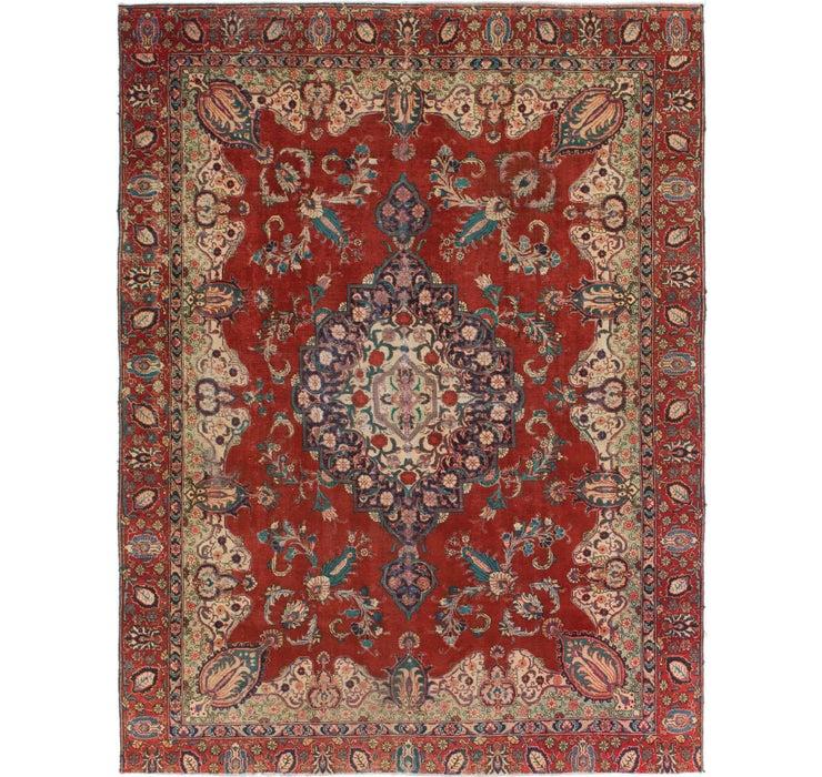 8' 9 x 11' 7 Tabriz Persian Rug