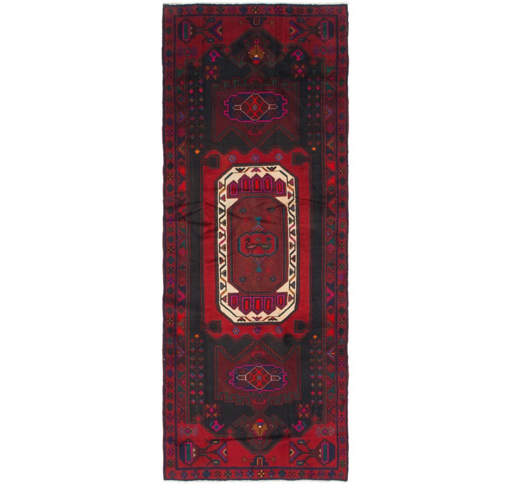 Image of 4' 2 x 11' 5 Zanjan Persian Runner Rug