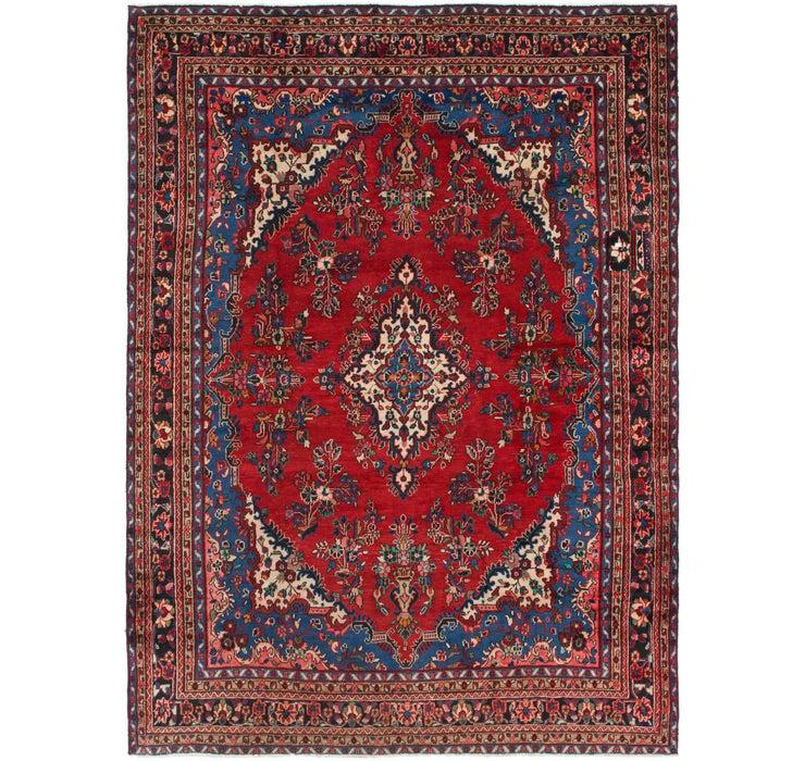 262cm x 365cm Hamedan Persian Rug