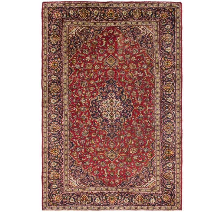 8' 3 x 12' 7 Kashan Persian Rug