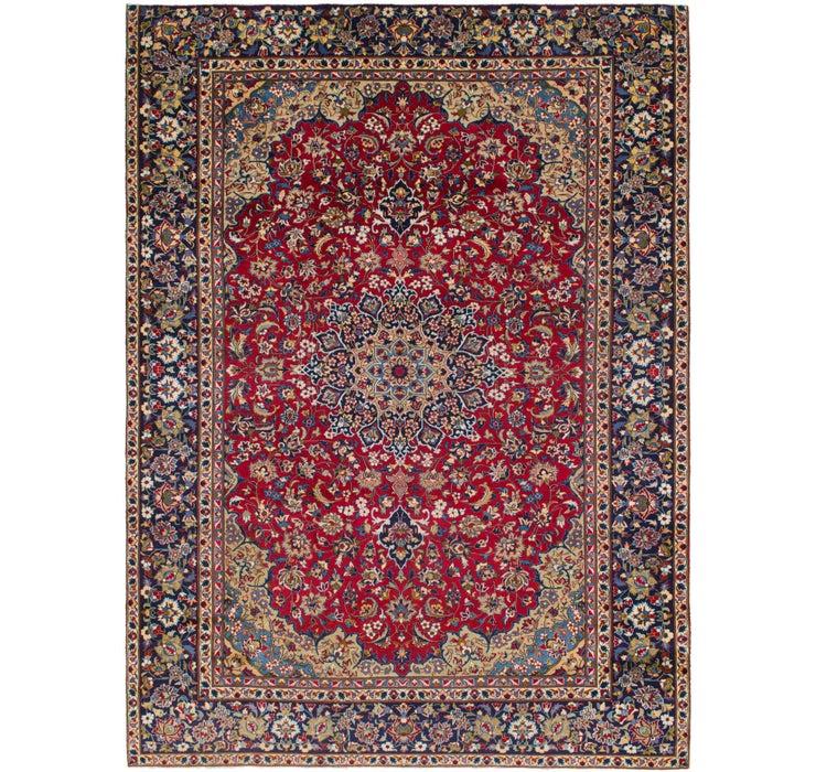 9' 4 x 12' 7 Isfahan Persian Rug