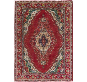 8' 2 x 11' 7 Tabriz Persian Rug main image