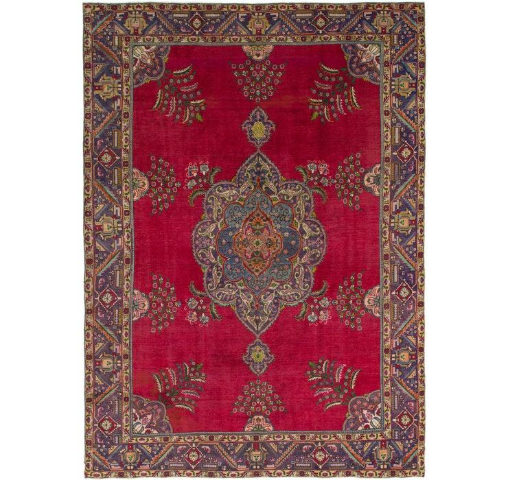 9' 3 x 12' 9 Tabriz Persian Rug