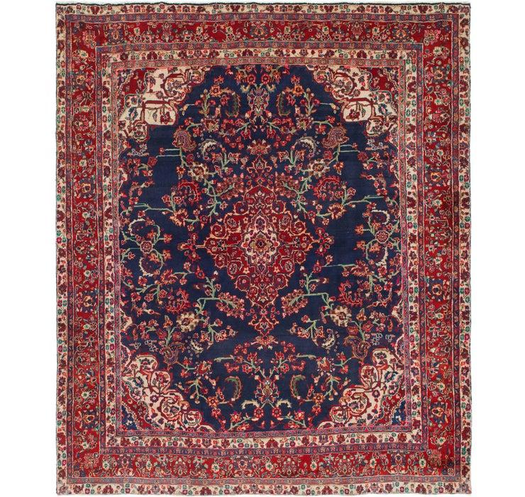 310cm x 360cm Shahrbaft Persian Rug