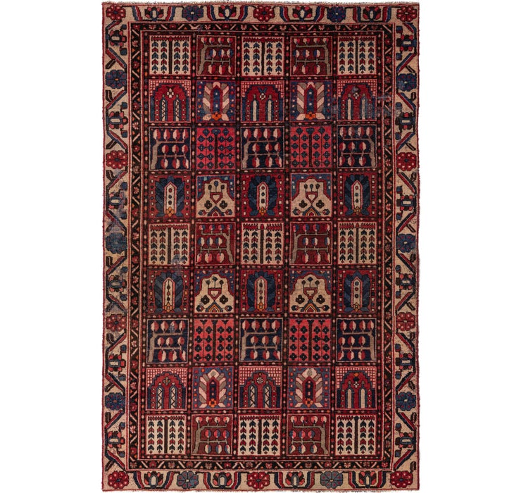 190cm x 297cm Bakhtiar Persian Rug