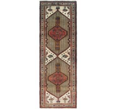 3' 9 x 11' 8 Meshkin Persian Runner Rug main image