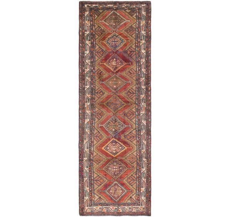 110cm x 335cm Chenar Persian Runner Rug