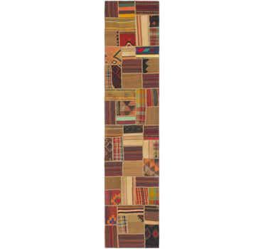 Image of 2' 9 x 13' 3 Kilim patchwork Runner ...