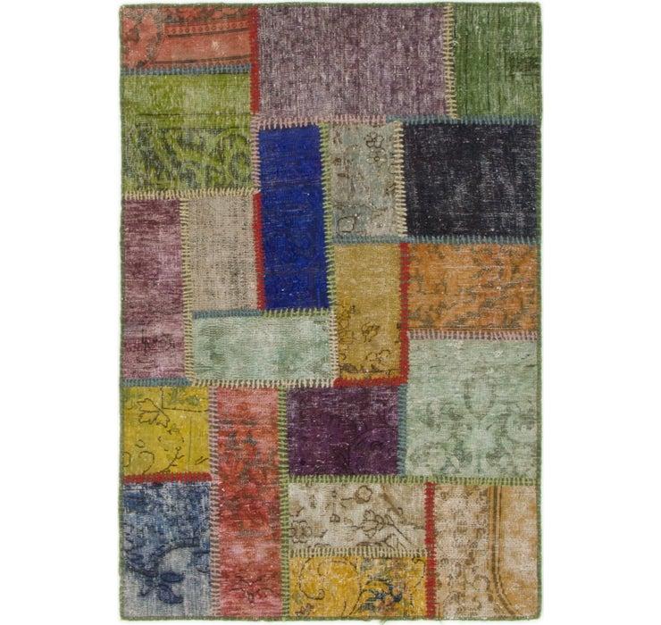 85cm x 127cm Ultra Vintage Persian Rug