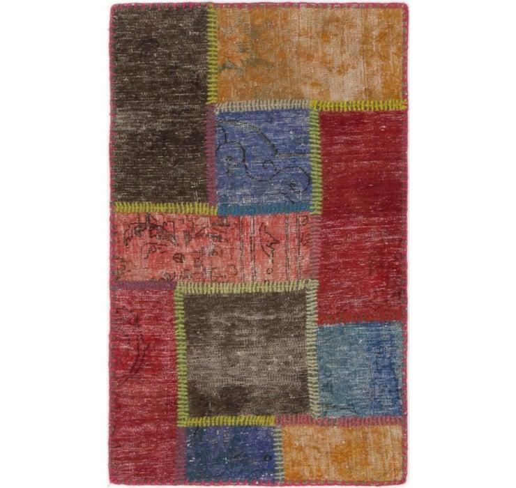 2' x 3' Ultra Vintage Persian Rug