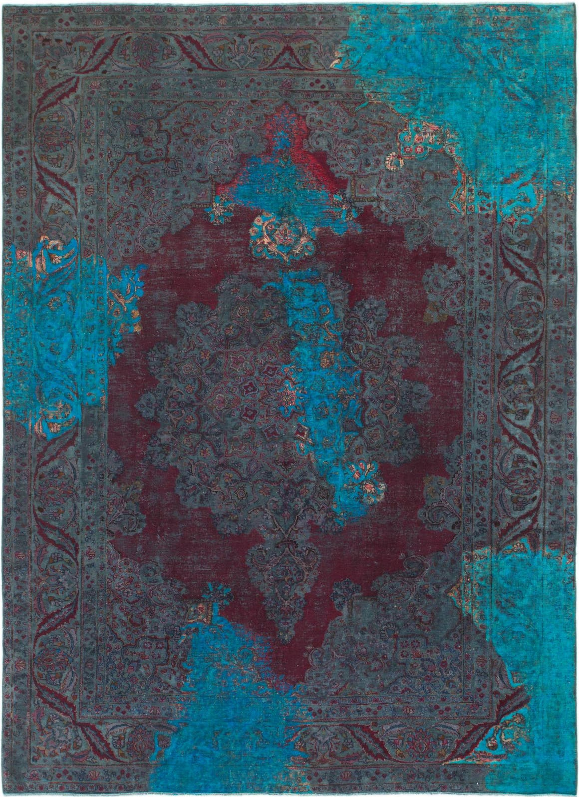 7' 10 x 10' 10 Ultra Vintage Persian Rug main image