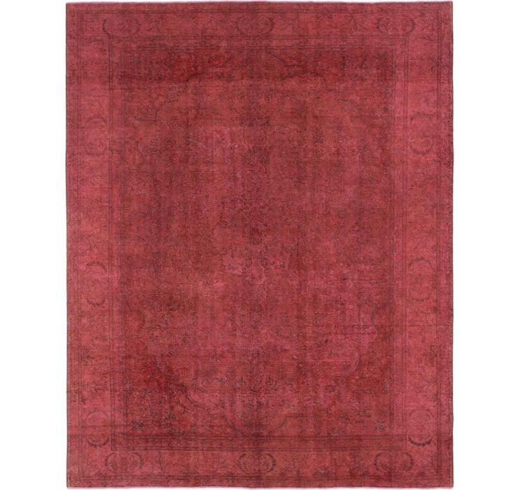 9' 7 x 12' 4 Ultra Vintage Persian Rug