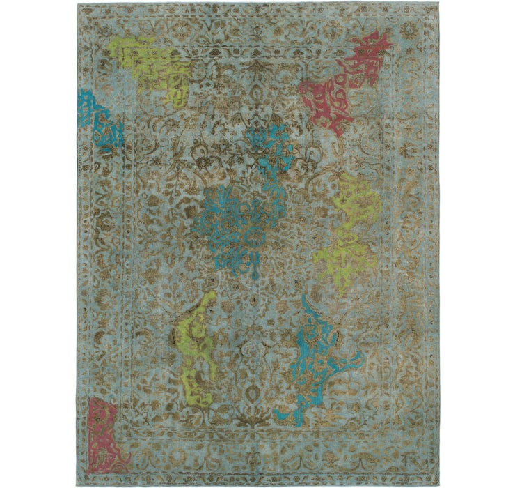 9' 6 x 12' 7 Ultra Vintage Persian Rug