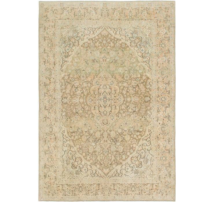 7' 8 x 11' Ultra Vintage Persian Rug
