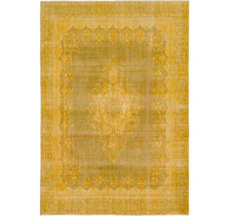 282cm x 410cm Ultra Vintage Persian Rug