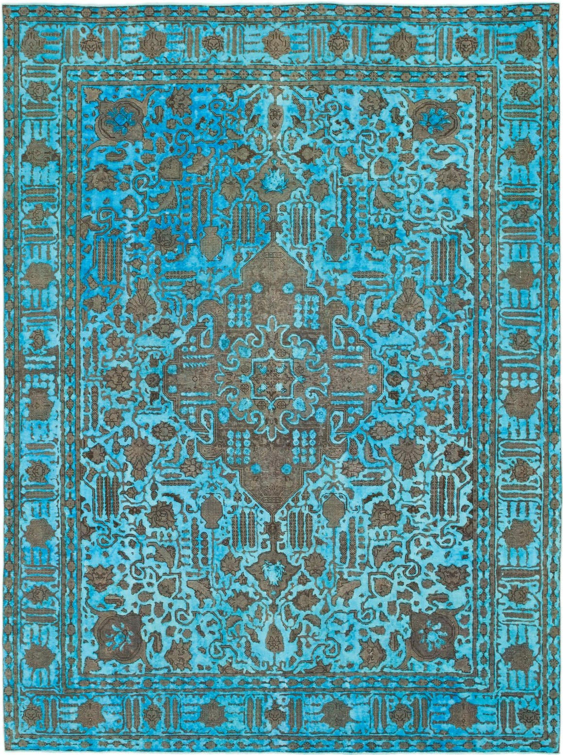 Blue  9' 6 x 12' 10 Ultra Vintage Persian