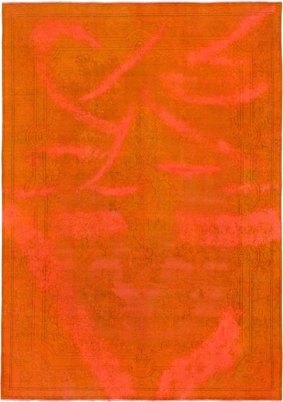 Orange  7' 10 x 11' 3 Ultra Vintage Persian