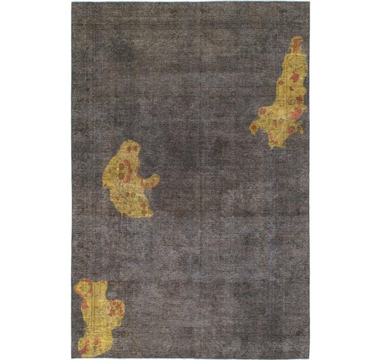 7' 4 x 10' 10 Ultra Vintage Persian Rug