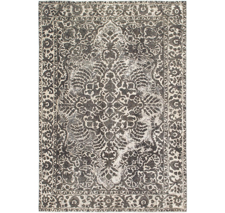 198cm x 287cm Ultra Vintage Persian Rug