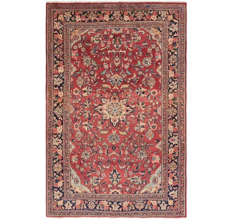 6' 7 x 10' 7 Mahal Persian Rug
