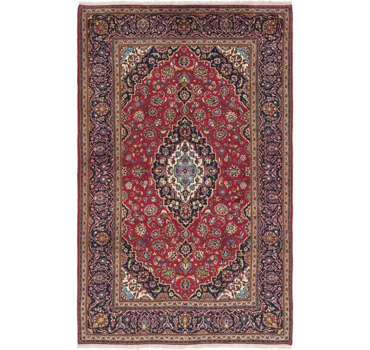 6' 6 x 10' 6 Kashan Persian Rug