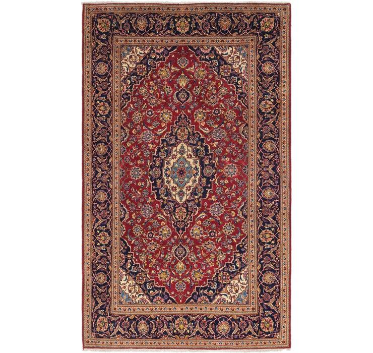 6' 6 x 11' 4 Kashan Persian Rug