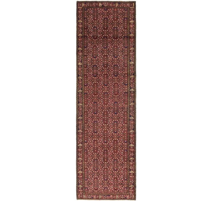 107cm x 385cm Shahsavand Persian Runn...