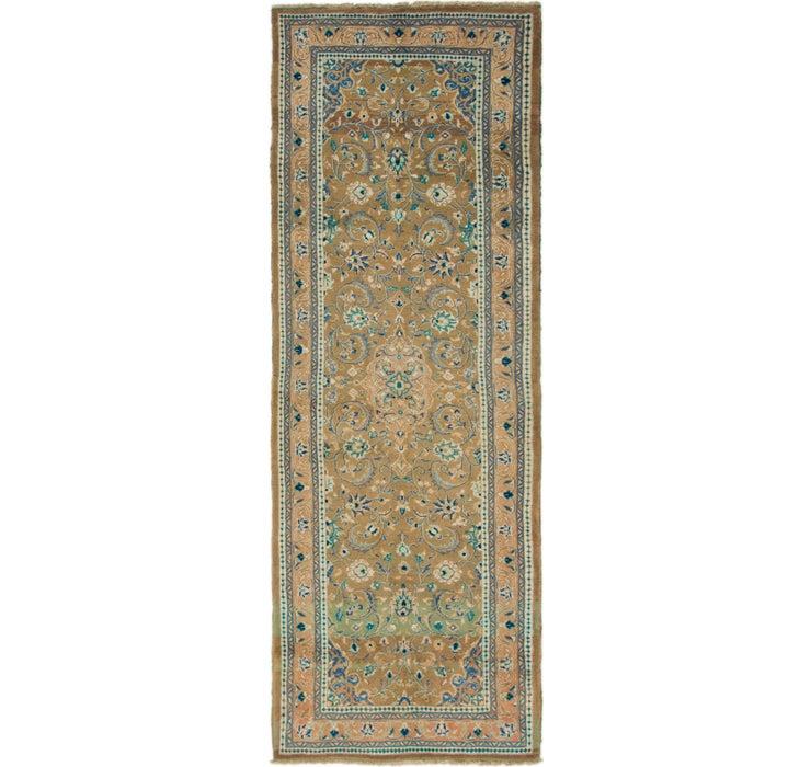 3' 7 x 10' 4 Mahal Persian Runner Rug