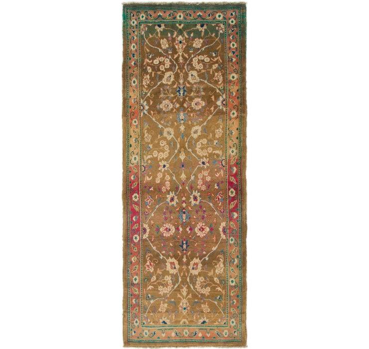110cm x 287cm Mahal Persian Runner Rug