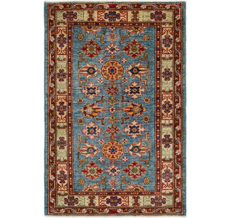 3' 4 x 4' 10 Kazak Persian Rug