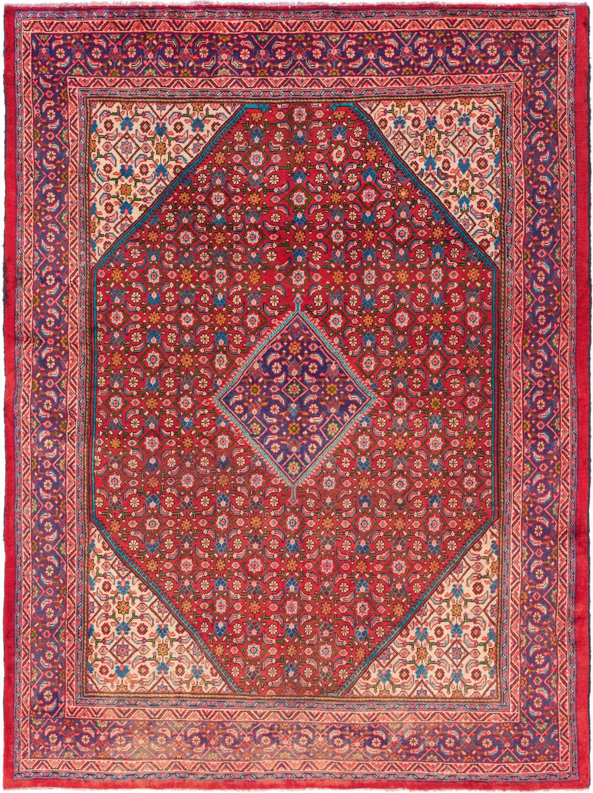 9' 6 x 12' Mahal Persian Rug main image