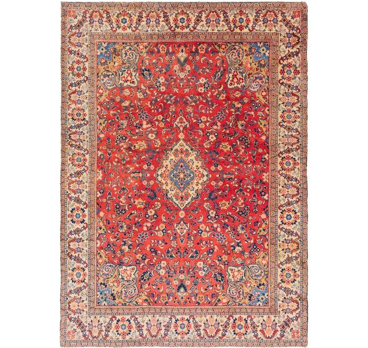 8' 7 x 12' Sarough Persian Rug