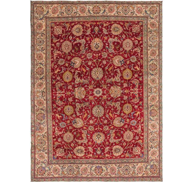 9' 3 x 12' 8 Tabriz Persian Rug